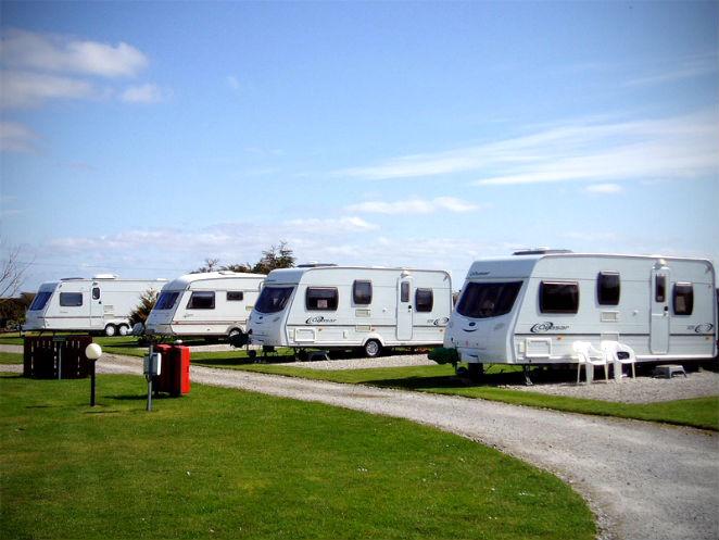 Used caravans