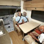 Motorhome safety crash test