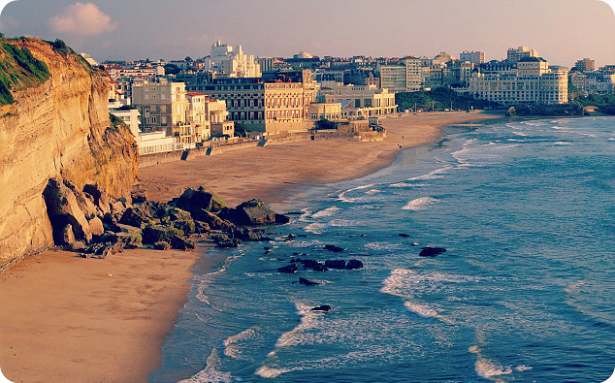 Motorhoming Spots in Europe: Biarritz, France