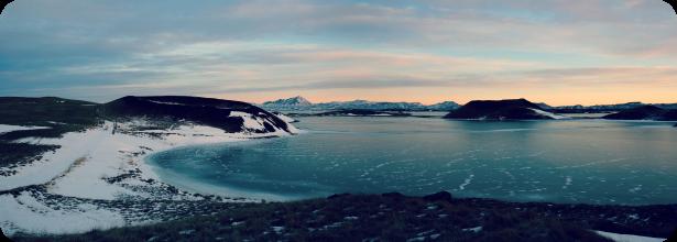 Lake Myvatn, Iceland - Caravan Camping