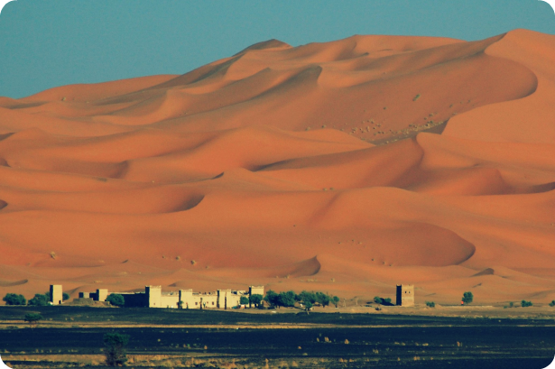 The Sahara Desert - Caravan Camping