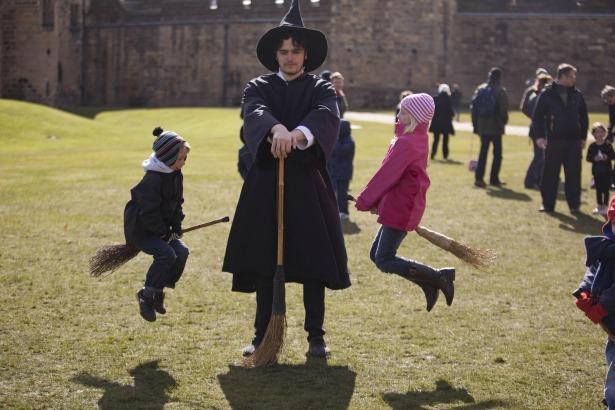 Alnwick Castle wizard