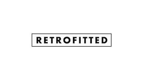 retrofitted